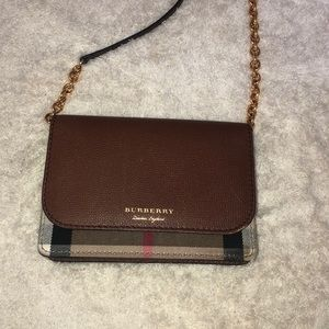 Burberry Chained Cross Body Bag